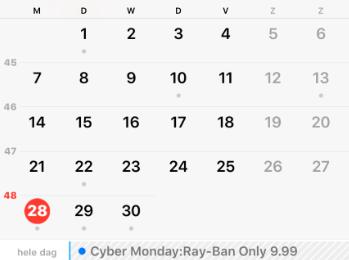 Kalender spam op je iphone en ipad hoe los je dat op?