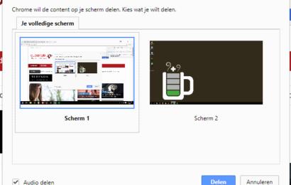 Chromecast gebruiken als tweede scherm [how to]